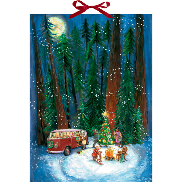 Wandkalender - Outdoor-Christmas