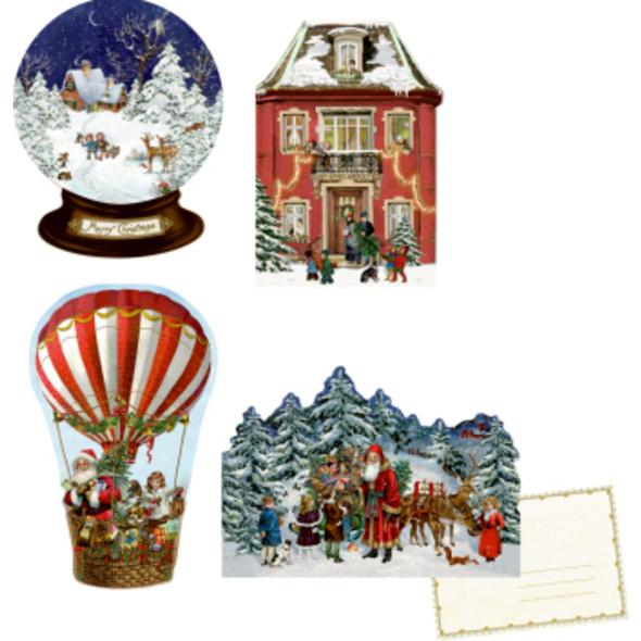 Nostalgische Weihnachten, Mini-Adventskalender-Sor