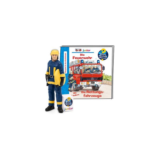 Tonie - Wieso Weshalb Warum Junior: Die Feuerwehr - Die Rettungsfahrzeuge  Novi06-20