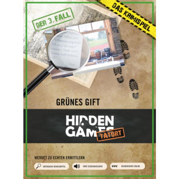Krimi-Spielebox: Hidden Games Tatort -Grünes Gift
