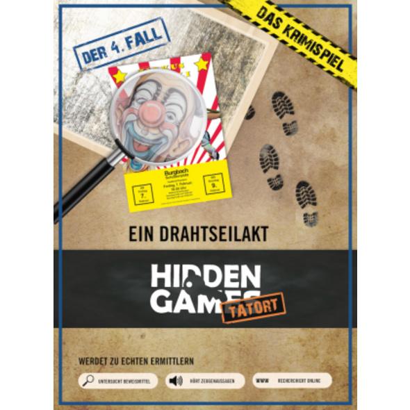 Krimi-Spielebox: Hidden Games Tatort -Ein Drahtsei
