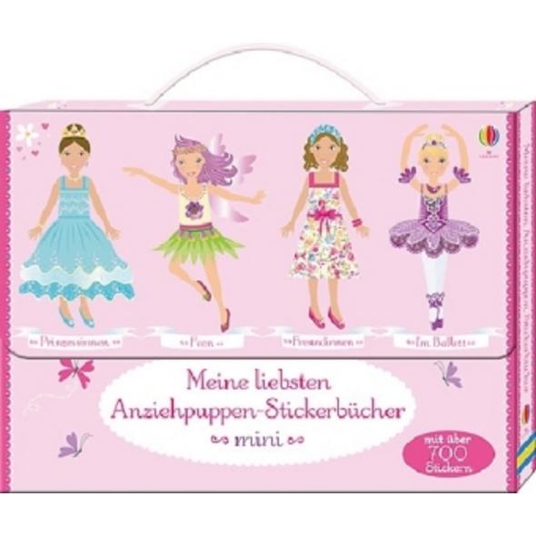 Meine liebsten Anziehpuppen-Stickerbücher mini