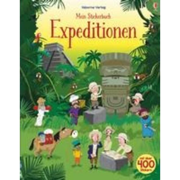 Mein Stickerbuch: Expeditionen