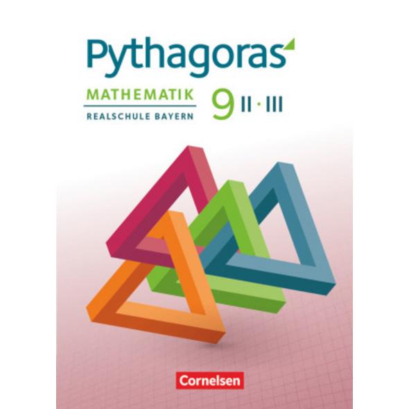 Pythagoras 9. Jahrgangsstufe  WPF II III  - Realsc