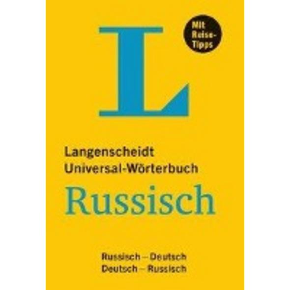 Langenscheidt Universal-Wörterbuch Russisch - mit