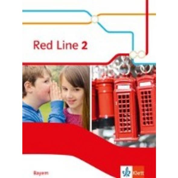 Red Line 2. Schülerbuch  Hardcover  Klasse 6. Ausg