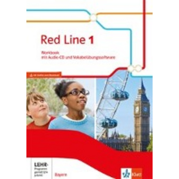 Red Line 1. Workbook mit Audio-CD und CD-ROM. Klas