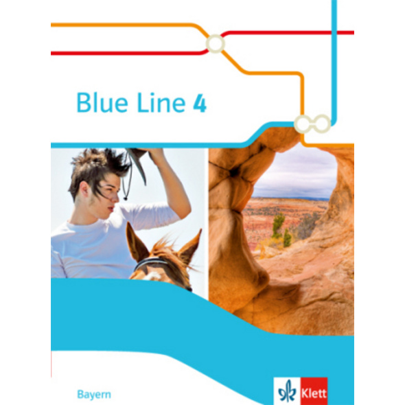 Blue Line 4 R-Zug. Schülerbuch  Hardcover  Klasse