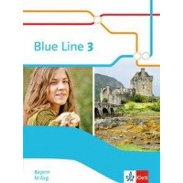 Blue Line 3 M-Zug. Schülerbuch  Hardcover  Klasse