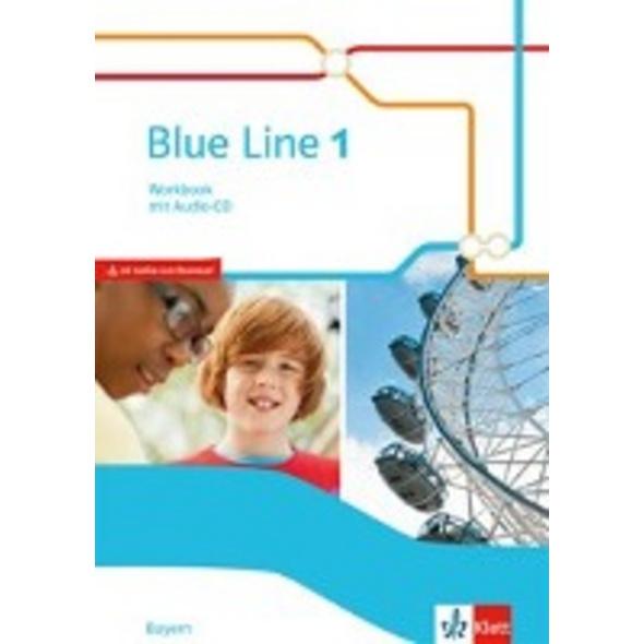 Blue Line. Workbook mit Audio-CD. Klasse 5. Ausgab
