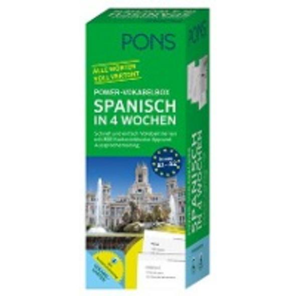 PONS Power-Vokabelbox Spanisch in 4 Wochen