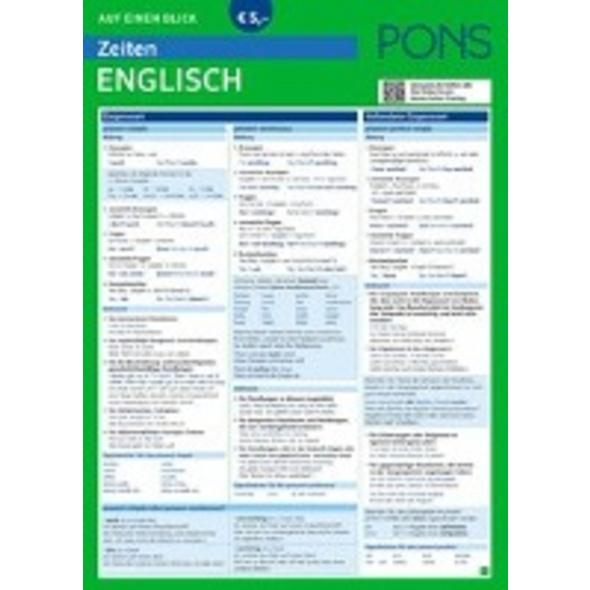 PONS Zeiten auf einen Blick Englisch