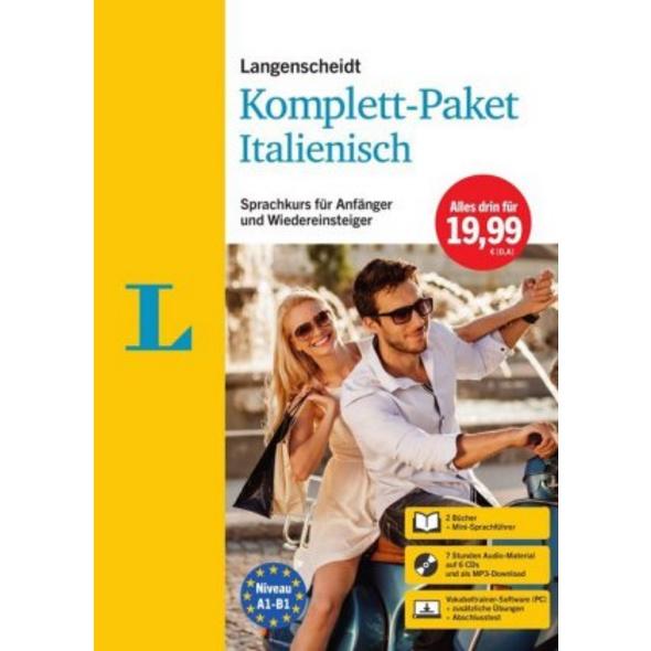 Langenscheidt Komplett-Paket Italienisch