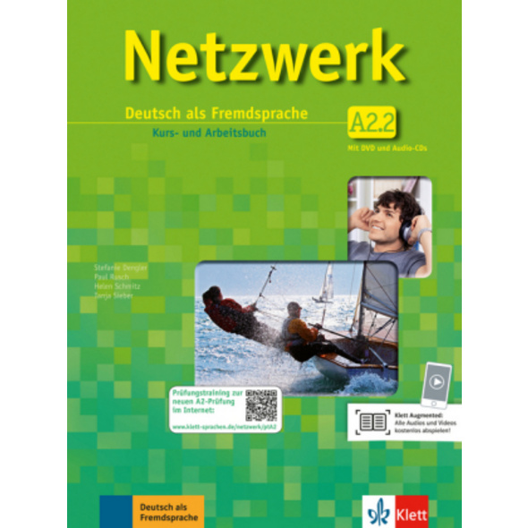 Netzwerk   Kurs- und Arbeitsbuch A2, Teilband 2 mi