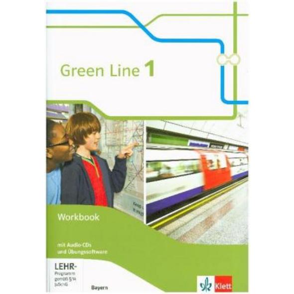 Green Line 1. Workbook mit 2 Audio-CDs und Übungss