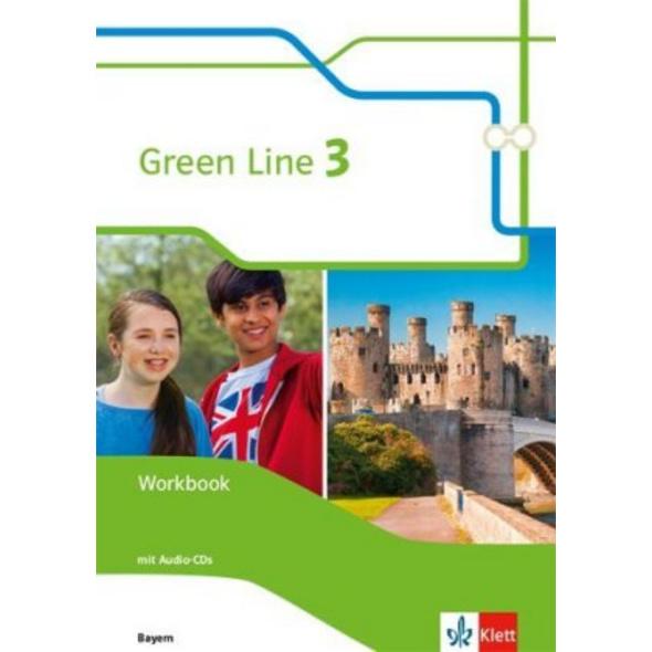 Green Line 3. Ausgabe Bayern. Workbook mit Audio-C
