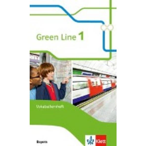 Green Line 1. Vokabellernheft. Ausgabe Bayern ab 2