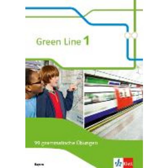 Green Line 1. Ausgabe Bayern. 99 grammatische Übun
