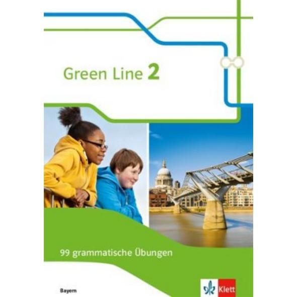Green Line 2. 99 grammatische Übungen mit Lösungen