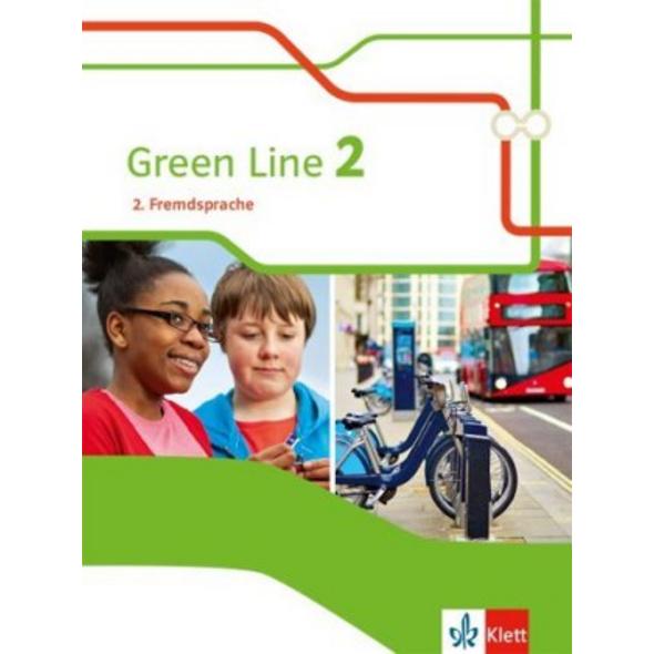 Green Line 2. 2. Fremdsprache. Schülerbuch Klasse