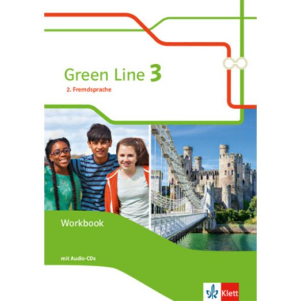 Green Line 3. Ausgabe 2. Fremdsprache. Workbook mi