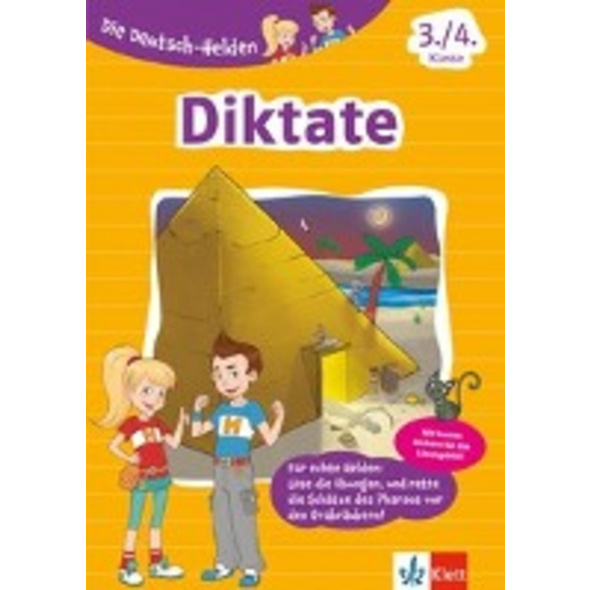 Die Deutsch-Helden. Diktate 3. 4. Klasse