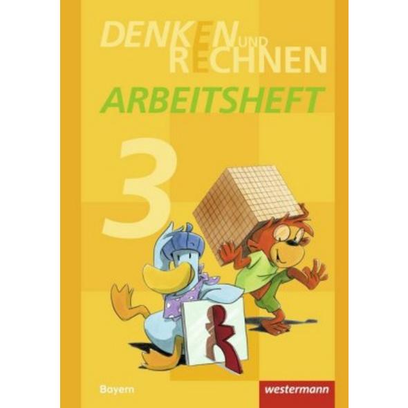 Denken und Rechnen 3. Arbeitsheft. Grundschulen. B