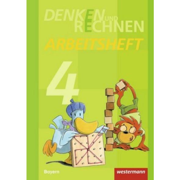 Denken und Rechnen 4. Arbeitsheft. Grundschulen. B