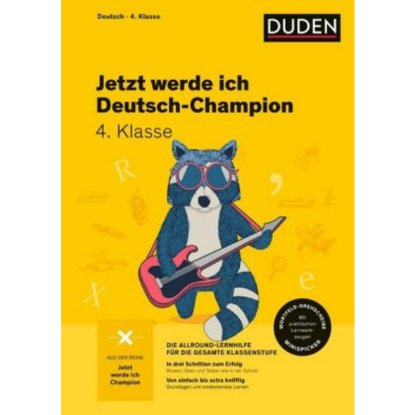 Jetzt werde ich Deutsch-Champion. Deutsch 4. Klass