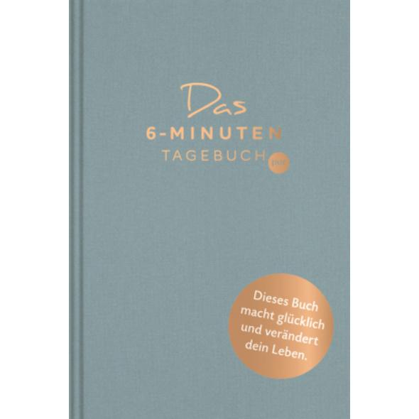 Das 6-Minuten-Tagebuch pur  aquarellblau