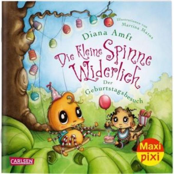 Maxi Pixi 312: Die kleine Spinne Widerlich: Der Ge