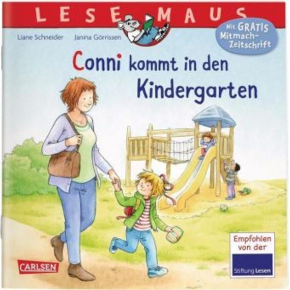 LESEMAUS 9: Conni kommt in den Kindergarten  Neuau