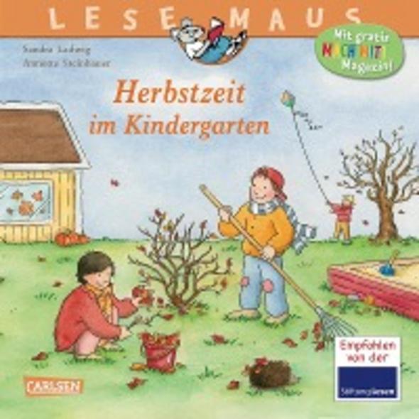 LESEMAUS 3: Herbstzeit im Kindergarten