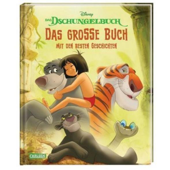 Disney: Das Dschungelbuch - Das große Buch mit den