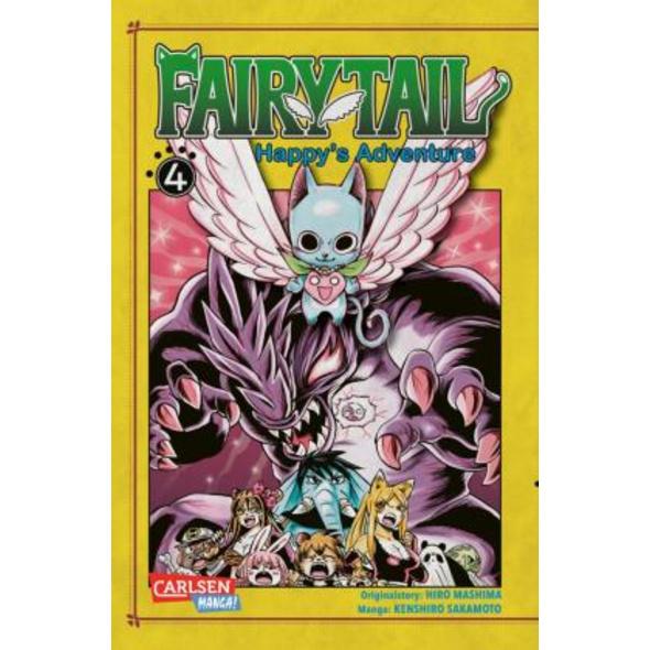 Fairy Tail - Happy s Adventure 4