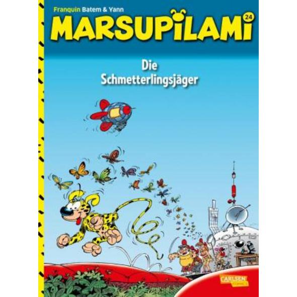 Marsupilami 24: Die Schmetterlingsjäger