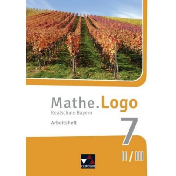 Mathe.Logo 7 II neu Realschule Bayern Arbeitsheft