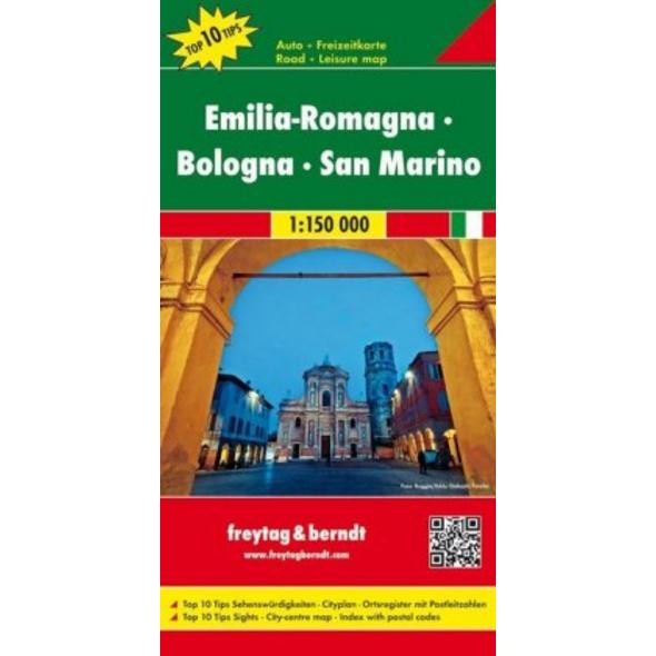 Emilia - Romagna - Bologna 1 : 150 000