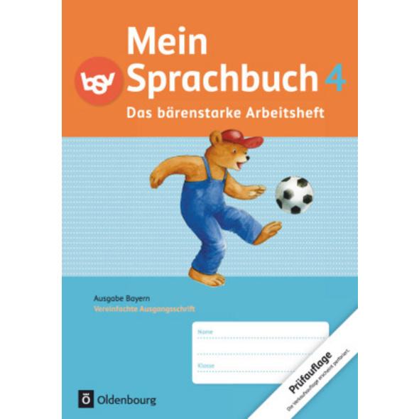 Mein Sprachbuch 4. Jahrgangsstufe. Das bärenstarke