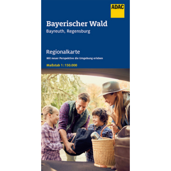 ADAC Regionalkarte Blatt 13 Bayerischer Wald, Bayr