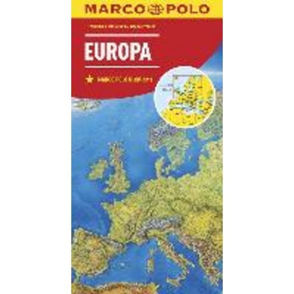 MARCO POLO Länderkarte Europa, physisch 1:2 500 00