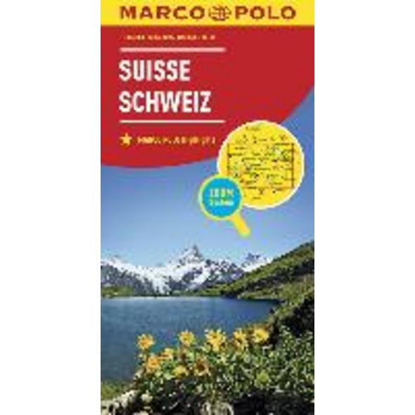MARCO POLO Länderkarte Schweiz 1:303 000