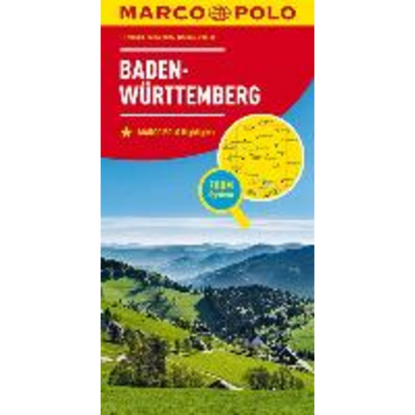 MARCO POLO Karte Deutschland Blatt 11 Baden-Württe