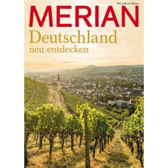 MERIAN Magazin Natur   Genuss in Deutschland 08 20
