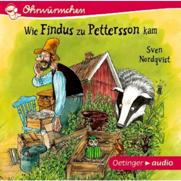 Wie Findus zu Pettersson kam  CD
