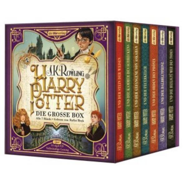 Harry Potter. Die große Box zum Jubiläum. Alle 7 B