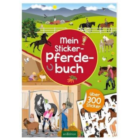 Mein Sticker-Pferdebuch