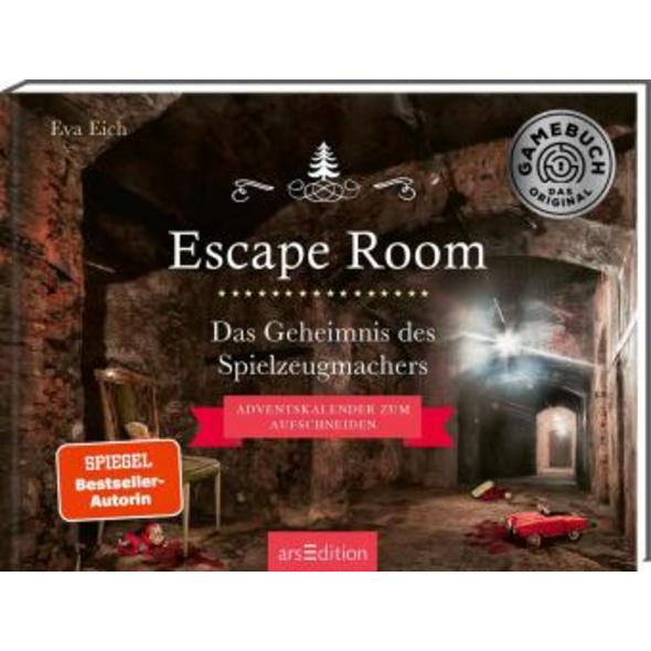 Escape Room. Das Geheimnis des Spielzeugmachers. D