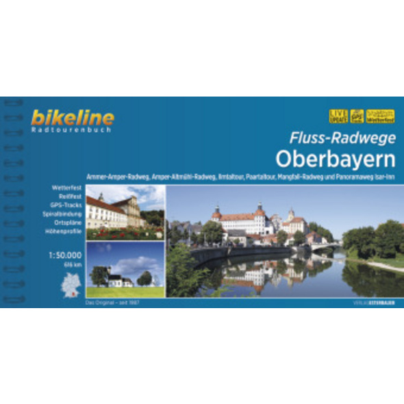 Fluss-Radwege Oberbayern