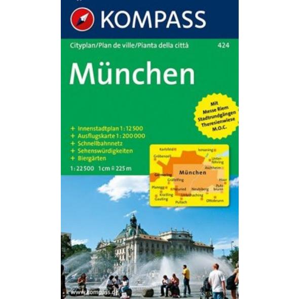 München 1 : 22 500. Cityplan